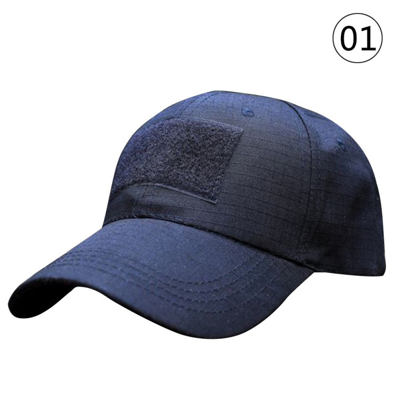 Outdoor Women Men Unisex Tactical Army Camouflage Military American US Flag Patch Baseball Sport Hat Cap
