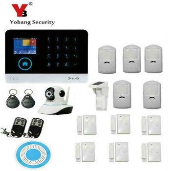 YobangSecurity Draadloze Beveiliging IP Camera WIFI Home Surveillance Alarmsysteem Met Outdoor Waterdichte Solar PIR Bewegingssensor