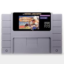 Salvar Arquivo de Harvest Moon EUA Versão 16 pouco Grande 46 pinos Cinza Cartão de Jogo Para O Jogador Do Jogo NTSC