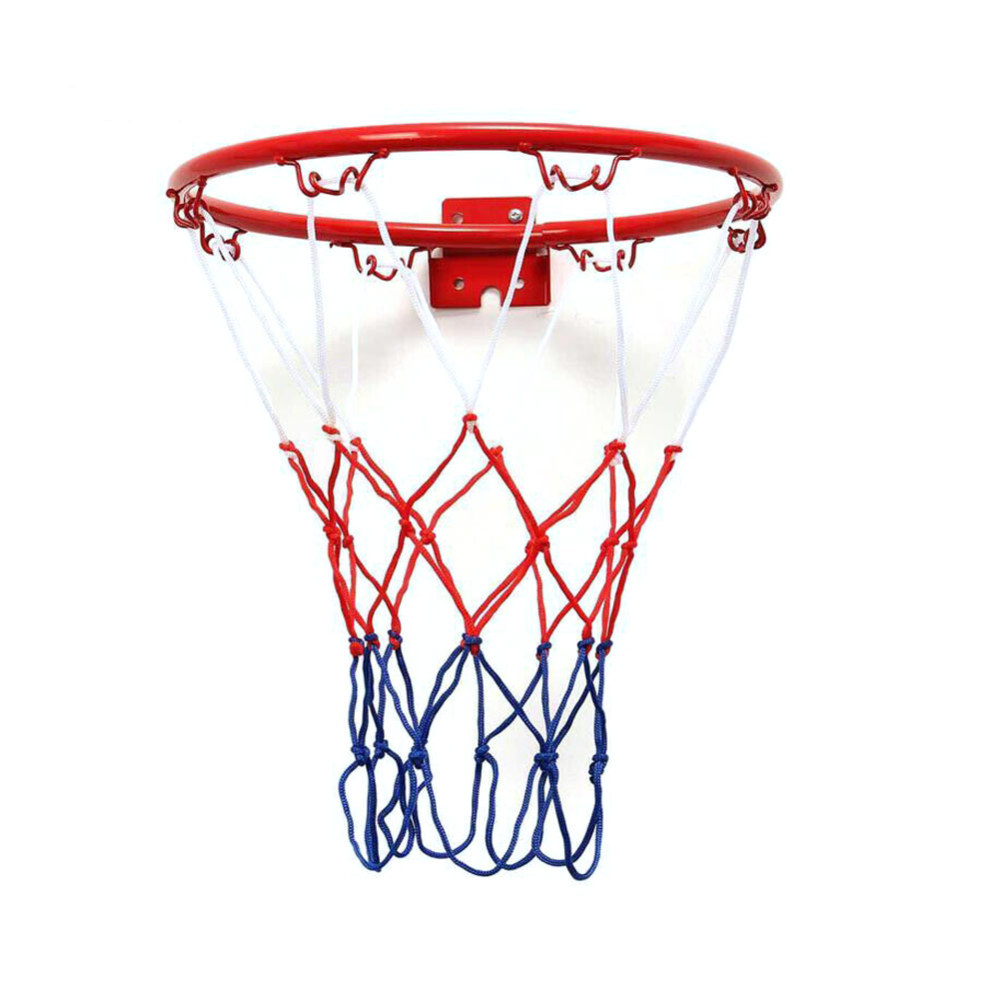 32cm Hanging Basketball Wall Mounted Goal Hoop Rim Net Sports Netting Indoor Outdoor Children's Basketball Box Dropship