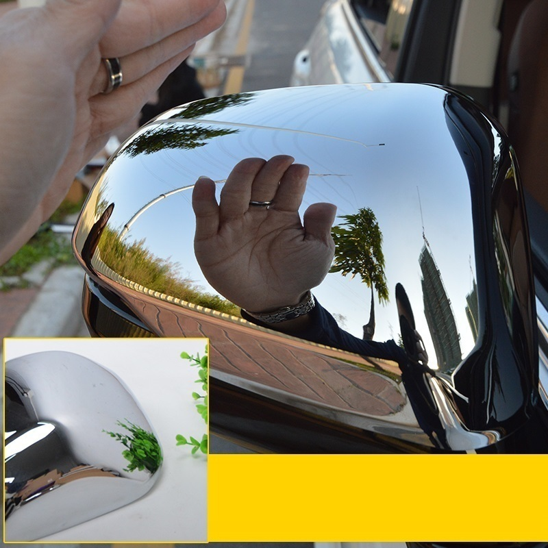 automobile car styling accessories chromium rearview mirror modified galvanized decoration decorative bri FOR Honda Avancier