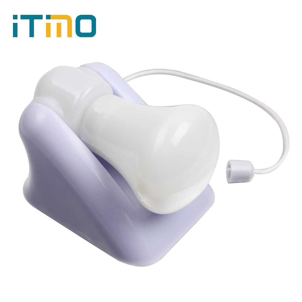 iTimo Night Light with Wire Switch Wall Mount Cabinet Lamp LED Bulb For Bedroom Corridor Toilet