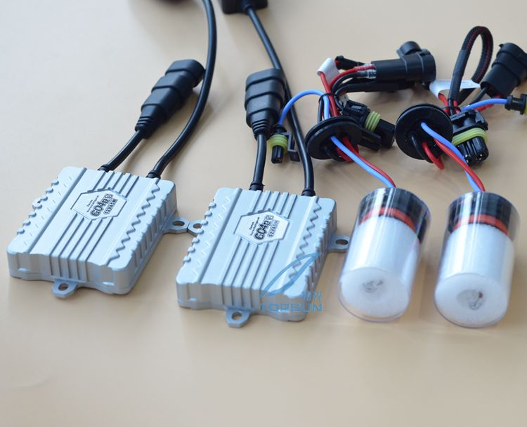 GZTOPHID 12V 45W FAST BRIGHT TOPSUN Brand HID BALLAST Car Light KIT 45W CNLIGHT Xenon Ball Bulb H1 H3 H7 H9 H11 9005 9006