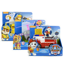 Genuine Paw Patrol Toys Car Rescue Team Cars Toy Anime Action Figure Model Patrulla Canina Kids for Children Gifts