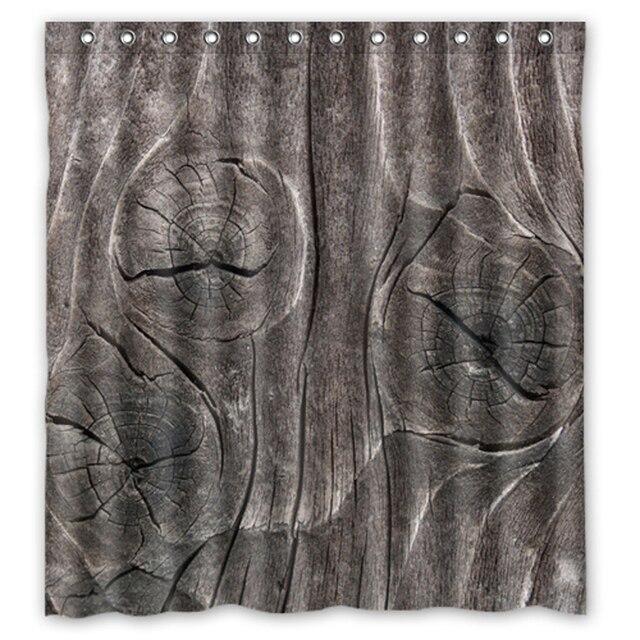 Sezione Vasca Da Bagno.Us 31 99 Albero Sezione Grigio Texture Legno Custom Made Tende Di Design Bagno Vasca Da Bagno Impermeabile Tenda Della Doccia Dimensioni