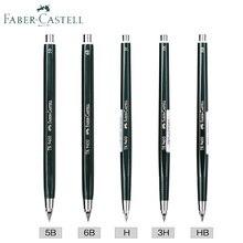 Lápis de embreagem faber castell tk 9400 2/3. 15mm desenho de lápis mecânico/automático 3 h/5b/6b; inclui 2 h/3b/f/h/5b/6b recarga de chumbo