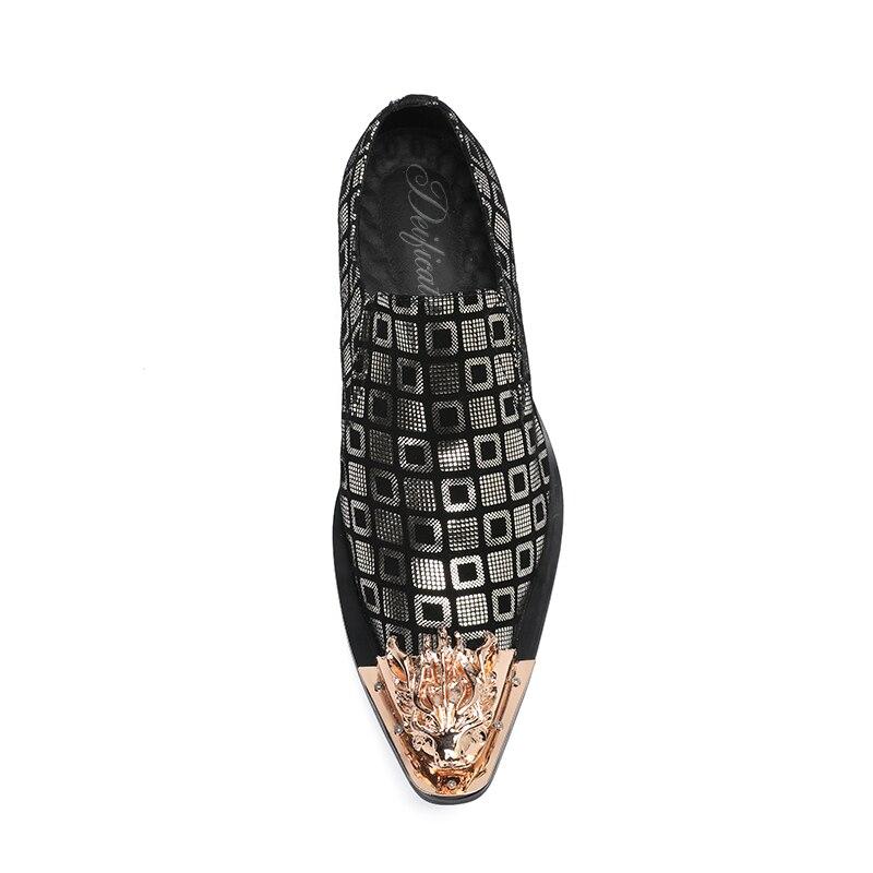 Deificação Festa Chaussure Couro Escritório Masculino Pontiagudo Homme De Vestido Cuir Do Formais Metal Homens En Toe Dos Vintage Sapatas Sapatos Plana Pic As Luxo rw1XR7qxr