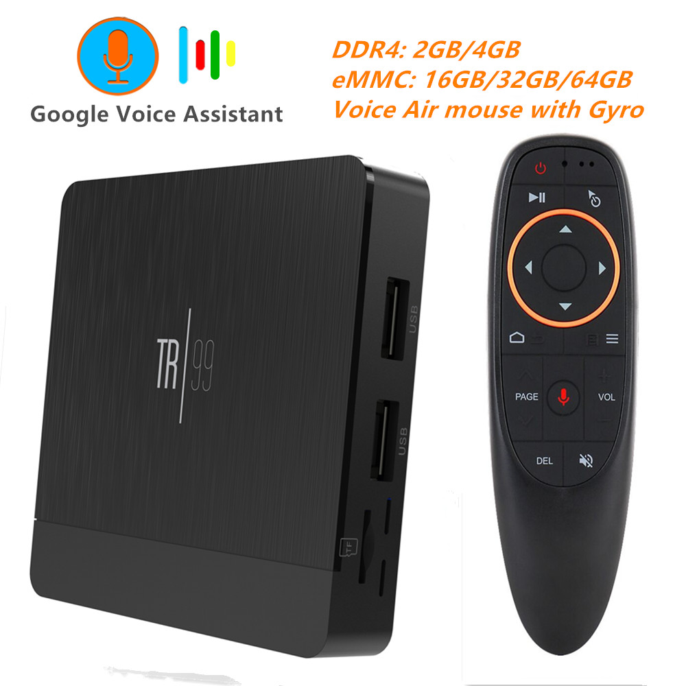Transpeed TR99 X2 Smart TV BOX Android 8.1 Amlogic S905X2 DDR4  4GB 32GB 64GB 2.4G&5GHz 1000M Wifi Bluetooth 4K Set top box IPTV-in Set-top Boxes from Consumer Electronics