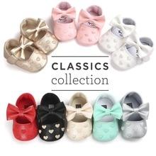 Cuero de la PU Bebé mocasines Niñas niños Primeros Caminantes zapatos moccs calientes Fondo Suave Antideslizante Borlas de Moda Bebés Recién Nacidos Zapatos