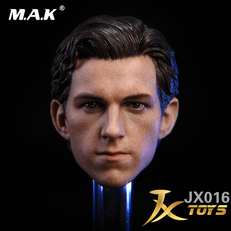 1/6 Male Carving Model The Avengers SpiderMan Tom Holland Sculpt F PH Action Figure Doll F 12Collectible Doll Toys Accessories 1 6 female head for 12 action figure doll accessories marvel s the avengers agents of s h i e l d maria hill doll head sculpt