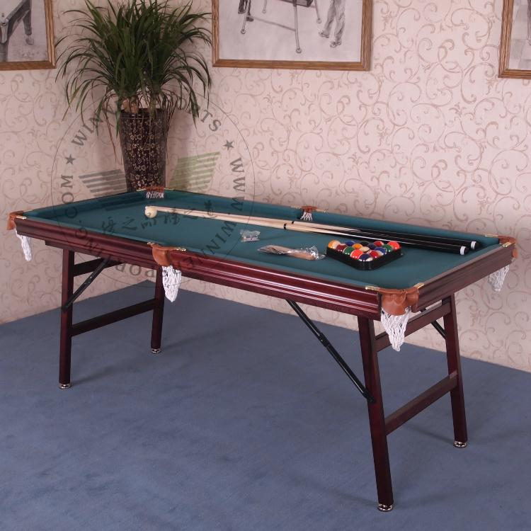 Inch folding american pool table biilard table family using billard table sma - Dimension table billard ...