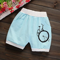 Novas Calças Curtas Outwear Dos Desenhos Animados Do Bebê Das Meninas Dos Meninos Do Bebê 100% Algodão Roupas de Verão Calças Do Bebê Crianças Calções 0-2 anos As Crianças