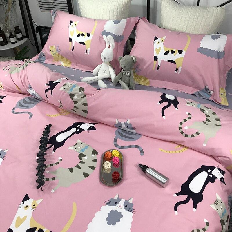MPK Store Cat Design Duvet Cover Sets 4 Pieces