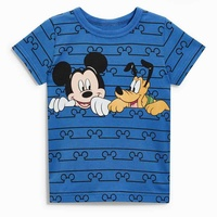 Katefengwo 2017 Baby Boys Girls Summer Cotton Mickey T Shirts Toddler Children Kids Printed Clothes T