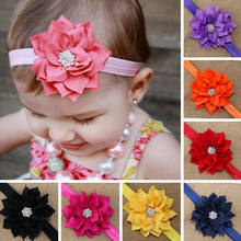 Infant Toddler Baby Cute Flower Headband Newborn Hair Band Kids Headwear Accessories Head Wrap 2019 New(China)