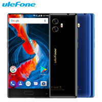 Original Ulefone Mix Cell Phone 5 5 Inch All Screen RAM 4GB ROM 64GB MTK6750T Octa