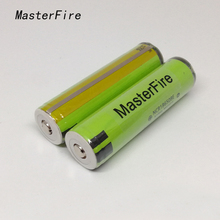6PCS/LOT New Genuine Protected 18650 NCR18650BE 3200mah 3.7v Li-ion Rechargeable Battery with PCB For panasonic for e-cig