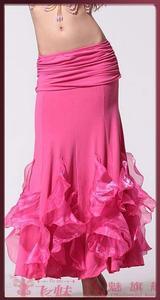 Image 5 - Gorąca wyprzedaż! Nowa spódnica do tańca brzucha z kryształowej bawełny dla kobiet spódnice do tańca brzucha do tańca brzucha