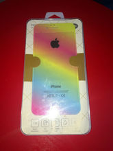 10set lot 5s SE Rainbow Colors Anti shock Front Screen Back Tempered glass Protector Skinny Film