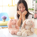 Cute Bunny Rabbit Plush Toys Baby Kids Rabbits Sleeping Comfort Stuffed Dolls Brinquedos Friends Lovers Best Gift 40cm
