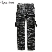 Fashion Men S Army Style Trousers Outdoor Camouflage Printed Baggy Military Cargo Pants For Men With