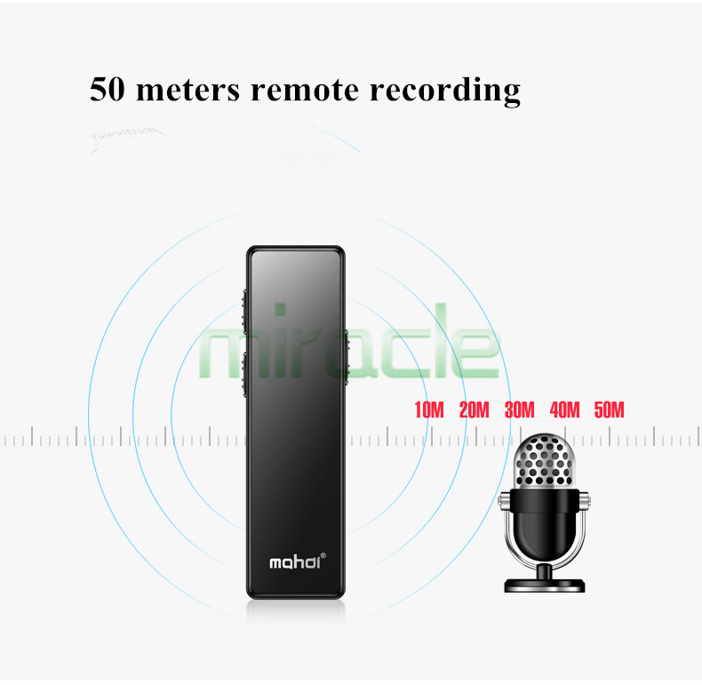 mahdi M11 voice Recorder professional HD video function with strong night light long distance mini recorder