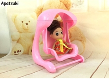 Mini Doll Accessories Swing Chair for Kelly dolls 1 12 Toy for Kids Play House Doll
