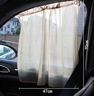 2 Pcs De Voiture Sucker Rideau De Voiture Parasol De Voiture Pare