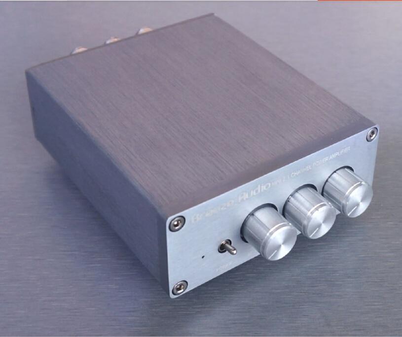 Livraison gratuite 2.1 amplificateur numérique haute puissance HIFI fini TPA3116D2/TDA2030/LM1875 aspect Compact attrayant