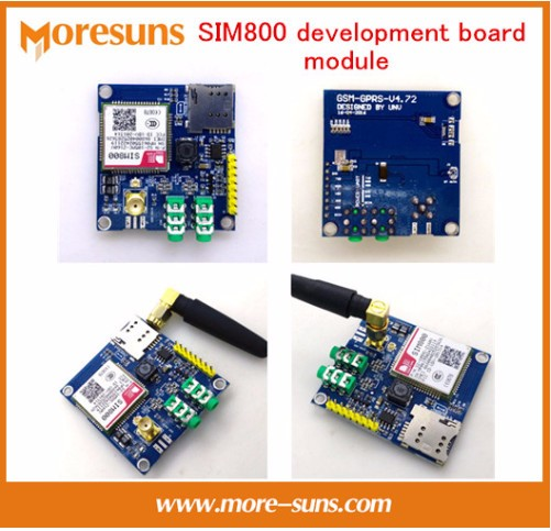 Fast Free Ship SIM800 development board module GSM GPRS MMS, SMS, STM32 for UNO exceed SIM900A UNVSIM800 development board gprs module gsm module a7 sms voice development board minimum system iot artificial intelligence