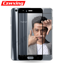 Honor 9 Glass Screen Protector Full Cover Flim Honor 9 Tempered Glass For Huawei