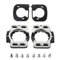 SEWS Ultra Light Cycling Cleats +Cleat Covers Road Bike Cleats Compatible Rd5 Speedplay Zero Action X1 X2 X5