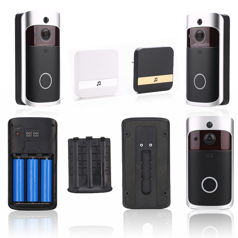 Image 5 - EKEN 2019 Smart WiFi Video Doorbell Camera Visual Intercom with Chime Night vision IP Door Bell Wireless Home Security Camera-in Doorbell from Security & Protection