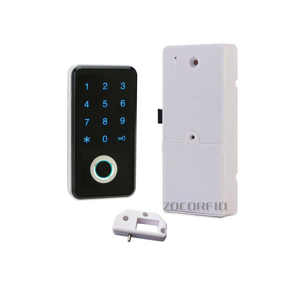 Smart Keyless Fingerprint Cabinet Lock For Office File Cabinet Drawer/GYM