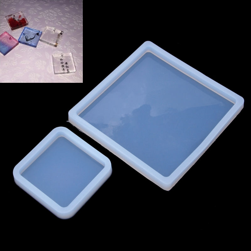 DIY Silicone Mold Polymer Clay Resin Casting Crafts Jewelry Making Mould Craft