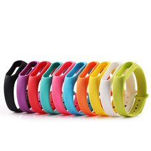 Colorful mi band 2 ремешок accessories pulseira miband 2 strap replacement silicone wriststrap for xiaomi mi2 smart bracelet(China)
