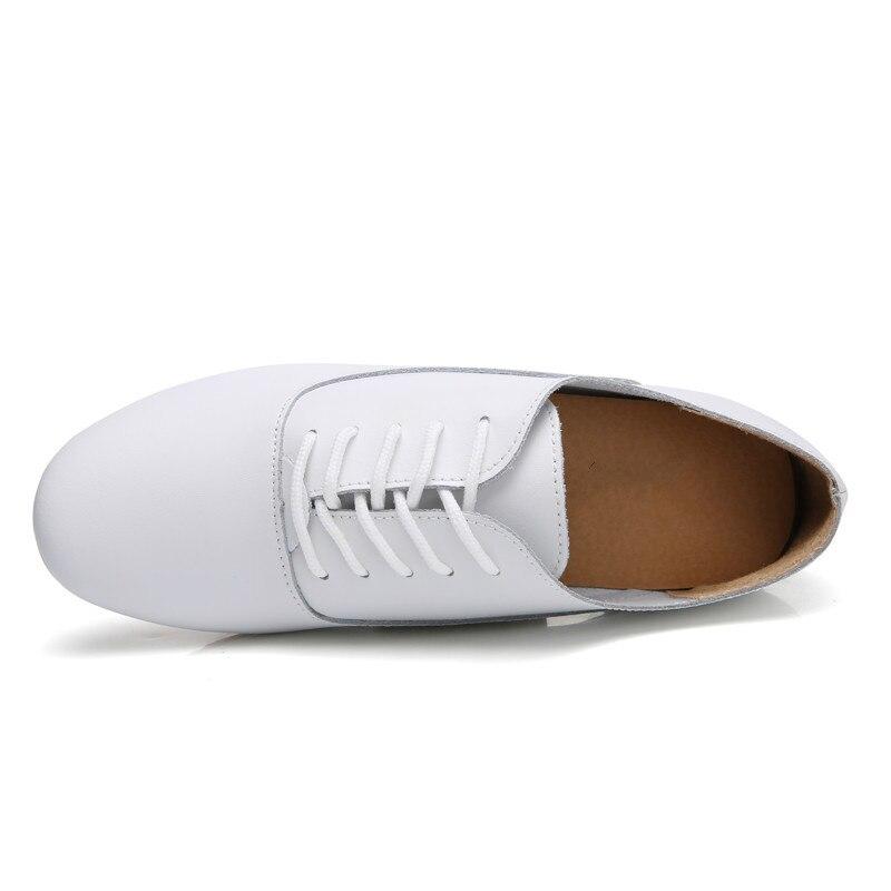 ee89812e6c Primavera De Negro Genuino 051 blanco Zapatos azul Blancos Cielo Lace Up  Mocasines Oxford Mujeres Bailarina tOx68q