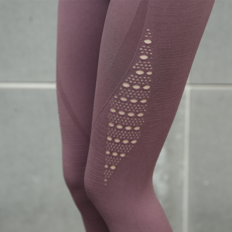 Hollow Out Fitness Athletic Leggings