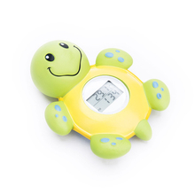 Часы животный дизайн цифровой датчик ребенок плавающая детская форма черепаха термометр для ванны игрушка для купания воды