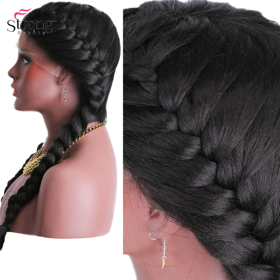 African American Two French Braids Hairstyles
