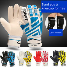 Football Gloves Professional Goalkeeper Finger Protection Thickened Latex Soccer Goalie Children Adult