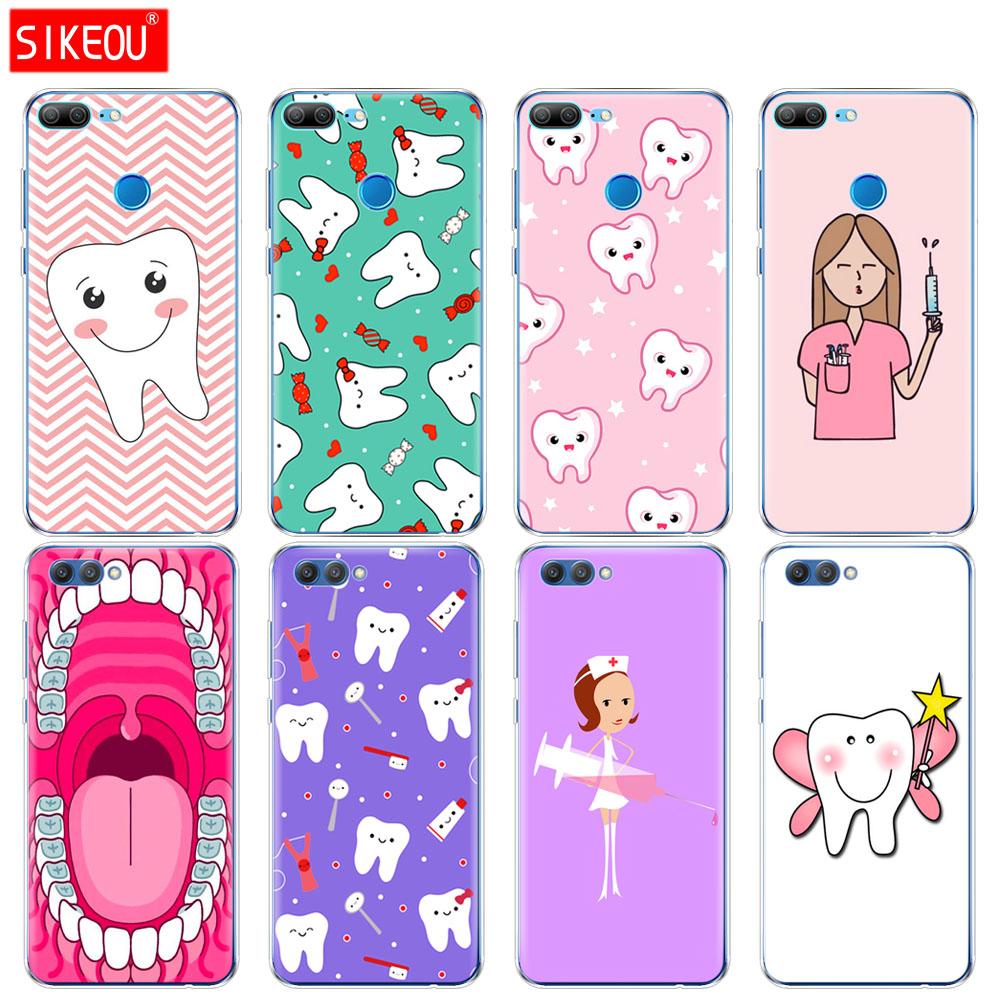 Cellphones & Telecommunications Fitted Cases Obedient Silicone Cover Phone Case For Huawei Honor 10 V10 3c4c5c 5x 4a 6a6c Pro 6x 7x 6 7 8 9 Lite Nurse Doctor Dentist Tooth Injections