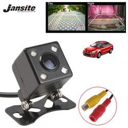 Jansite HD IP67 wodoodporny uchwyt na aparat cofania NTSC CCD linia parkowania cofania 4 LED 140 stopni night vision kamera cofania w Kamery pojazdowe od Samochody i motocykle na