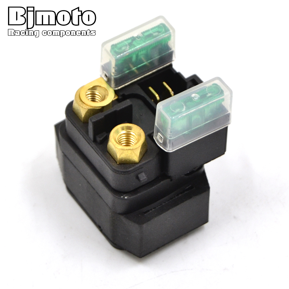 Bjmoto Motorcycle Starter Relay Solenoid For Yamaha Fz6 Yzf600r 2009 Royal Star Venture Starting System Circuit Yfm250 Yfm350 Yfm400 Yfm450 Yfm660 Yxr450 Yxr660 Road In Motorbike Ingition From