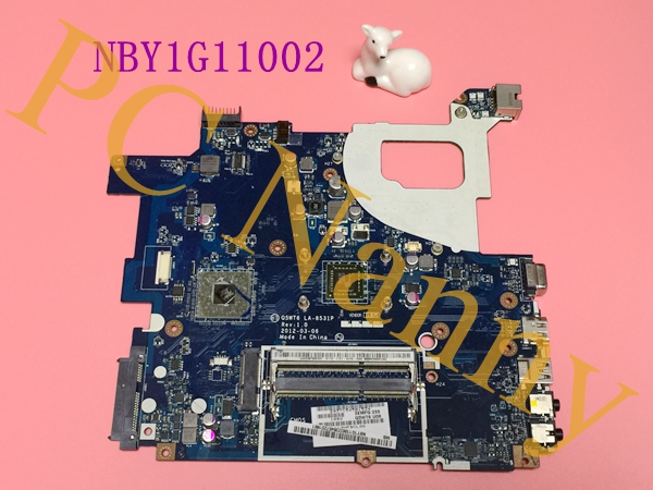 FOR Acer Aspire E1-521 AMD Laptop Motherboard LA-8531P NBY1G11002