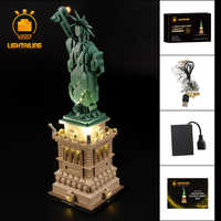 LIGHTAILING LED Light Kit For Architecture Statue of Liberty Light Set Compatible With 21042 (NOT Include The Model)