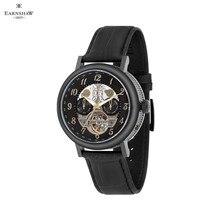 Наручные часы Earnshaw ES-8083-04 мужские механичексие с автоподзаводом на кожаном ремешке