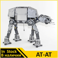 Lepin 05050 Compatible Legoes Star Wars Figures AT AT 10178 Building Blocks Model Toys For Children