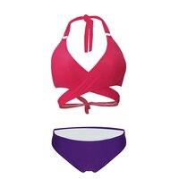 Verband Bikini Für Frauen 12 Farben Bademode Damen Bademode Push Up Badeanzug Sexy Biquini 2018 Schwimmen Tragen Damen Badeanzug Beachwear