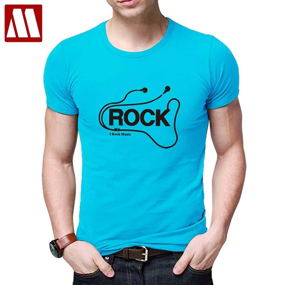 new concept 03880 02e3b MYDBSH Summer T-Shirt Mans Fashion Headset Cartoon Print Casual tshirt Men  O Neck Cotton